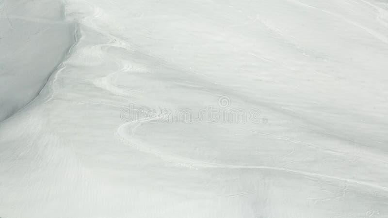 滑雪雪线索 免版税图库摄影