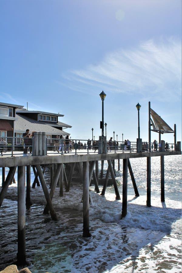雷东多着陆加利福尼亚风景看法在洛杉矶县,加利福尼亚,美国 免版税库存图片