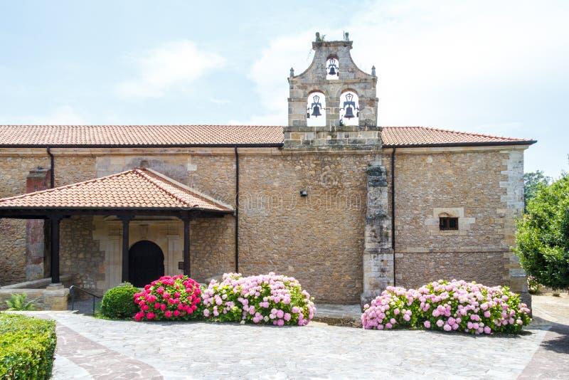 雷日纳Coeli主教管区的博物馆, Santillana,西班牙 库存照片