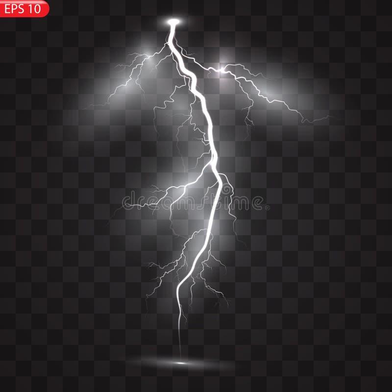 雷暴和闪电 皇族释放例证