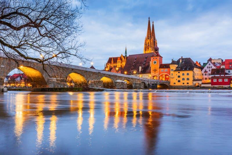 雷根斯堡,德国 免版税库存照片