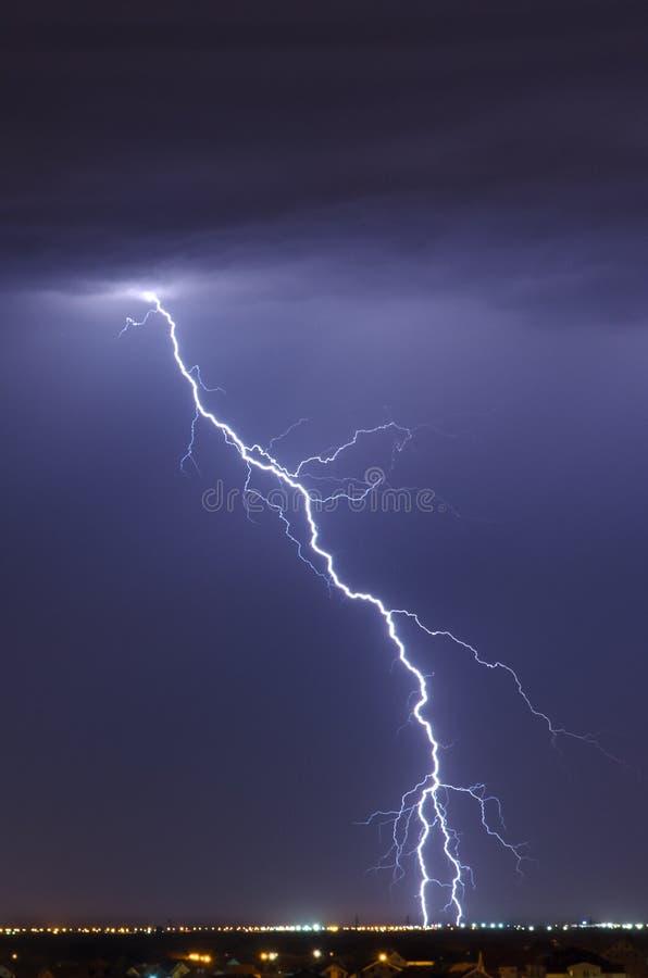 雷电 库存图片