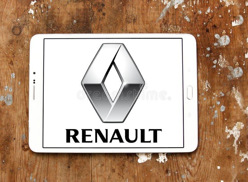 雷诺汽车商标 库存照片