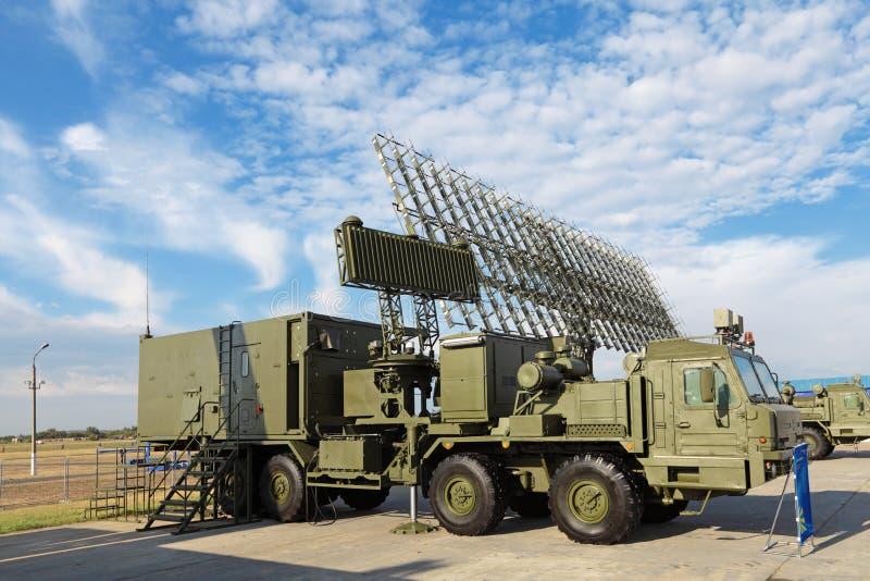 雷达复杂55ZH6ME 库存照片