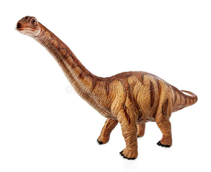 雷龙属恐龙玩具 库存照片图片
