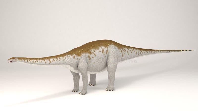 雷龙属恐龙 库存例证