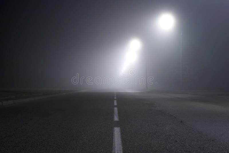 雾路 库存图片