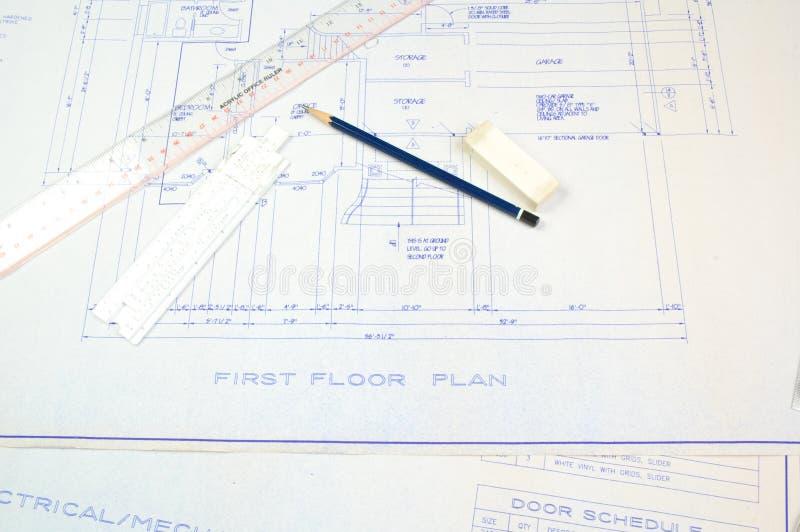 需要的建筑许可证 库存照片
