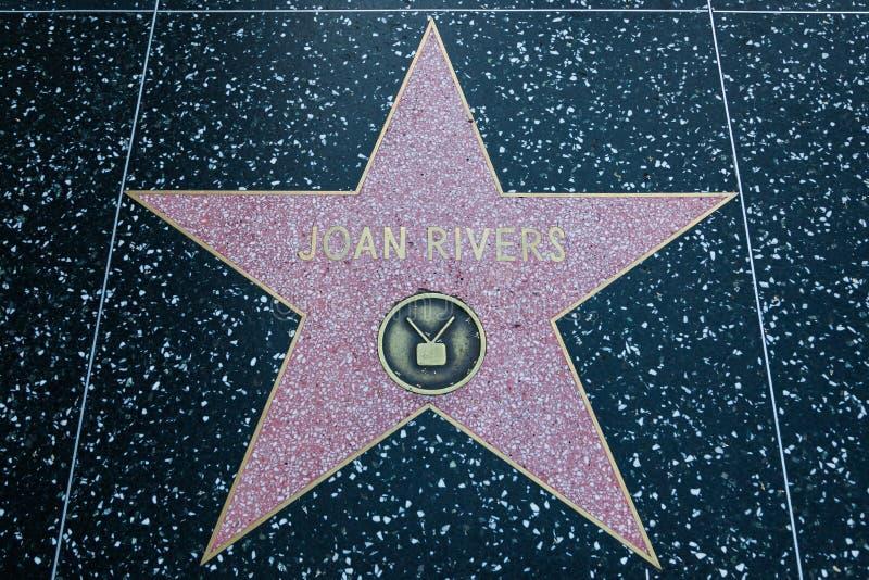 霍安河好莱坞明星 免版税库存图片