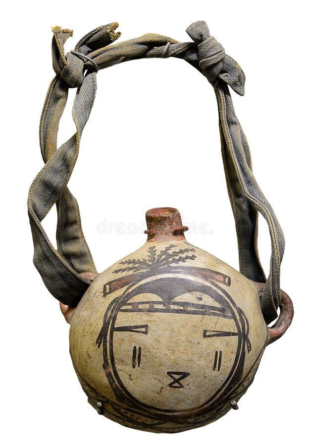 霍皮族军用餐具 免版税库存图片