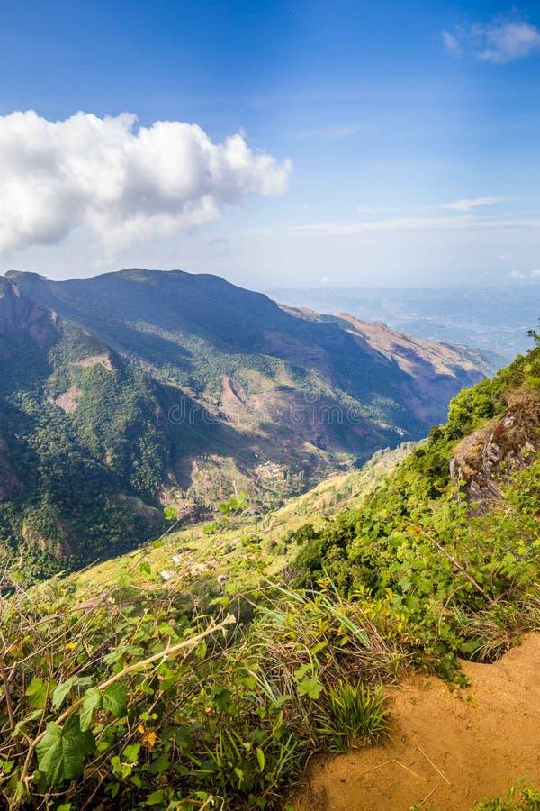 霍顿在斯里兰卡抱怨国家公园 库存照片