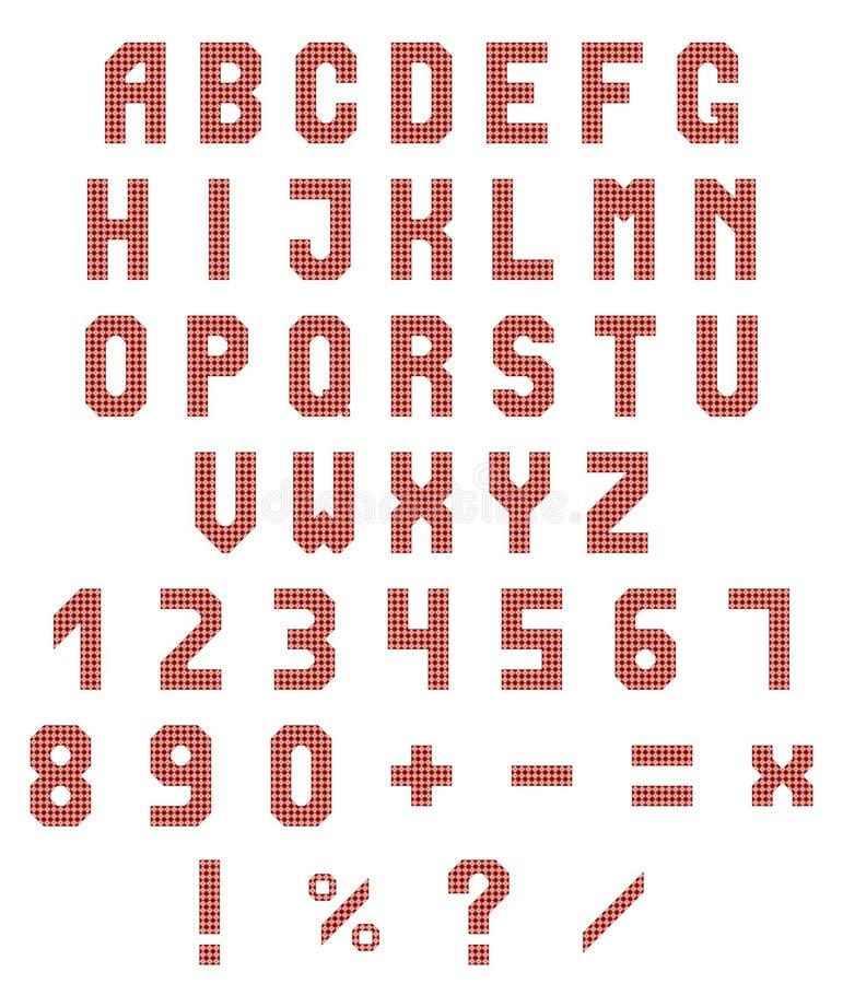Download 霓虹字母表和数字在白色背景 红色霓虹梯度 也corel凹道例证向量 向量例证 - 插画 包括有 类型, 夜生活: 72355042