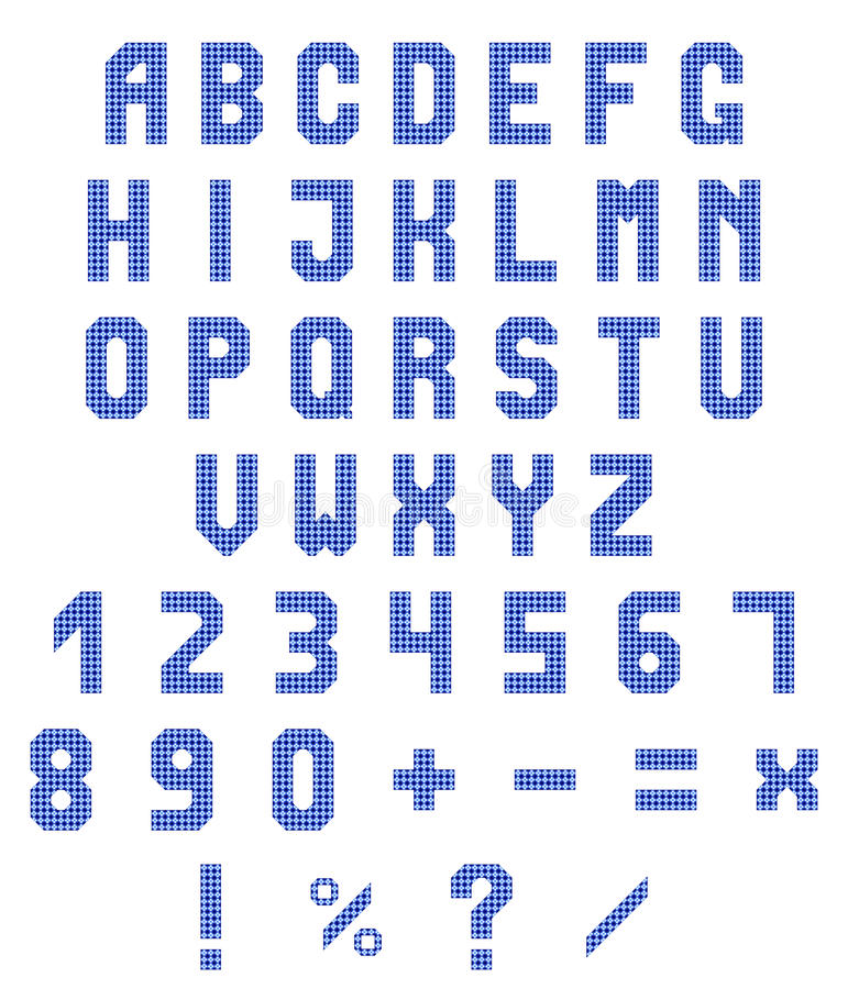 Download 霓虹字母表和数字在白色背景 蓝色霓虹梯度 也corel凹道例证向量 向量例证 - 插画 包括有 信函, 颜色: 72356221