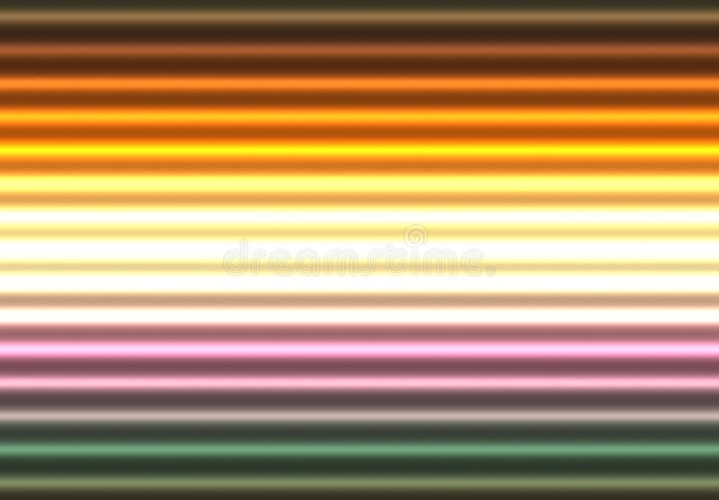 霓虹抽象发光的光 向量例证