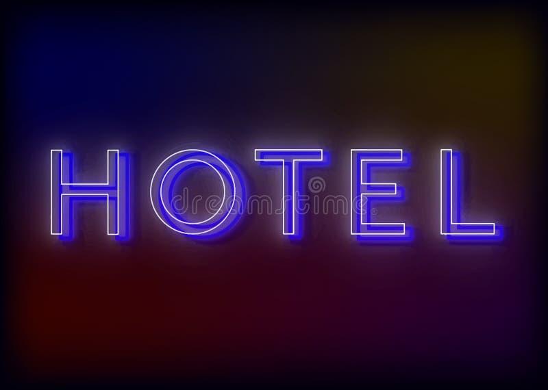 霓虹旅店的意思