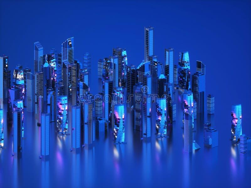 霓虹照明设备 免版税库存图片