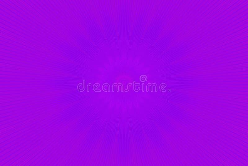 霓虹紫色发光的光芒射线 ?? 皇族释放例证