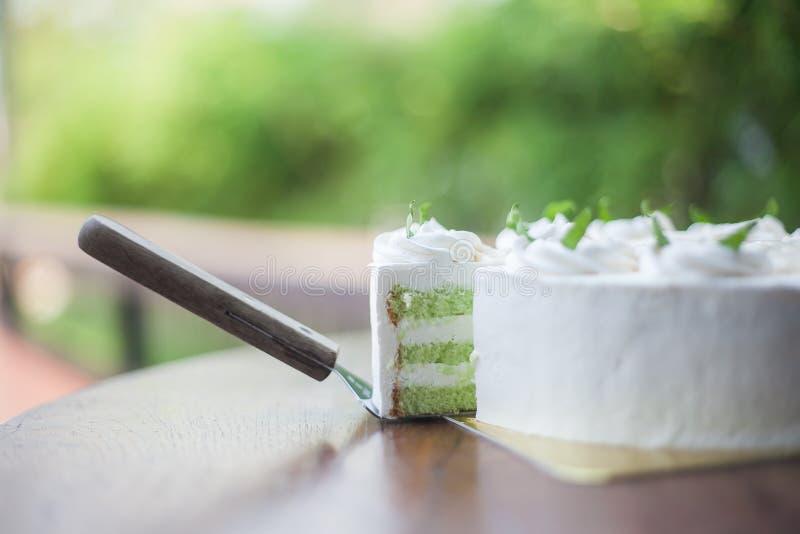 露兜树蛋糕 图库摄影