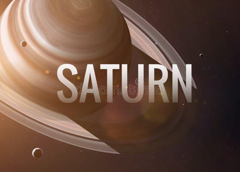 从露天场所采取的射击土星 拼贴画 库存照片
