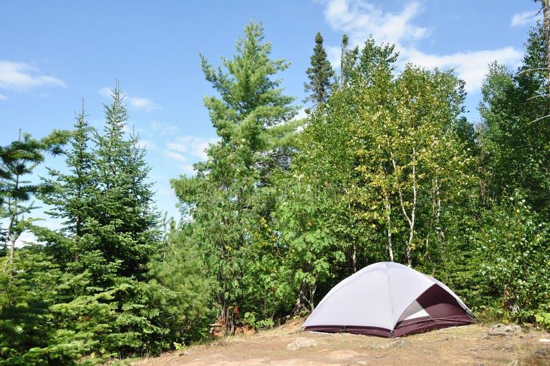 露营地帐篷原野 库存图片