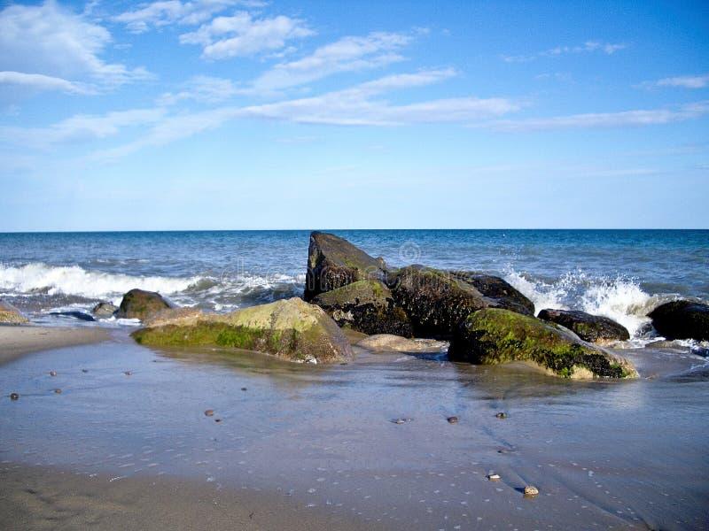 露西葡萄园海滩 免版税库存图片