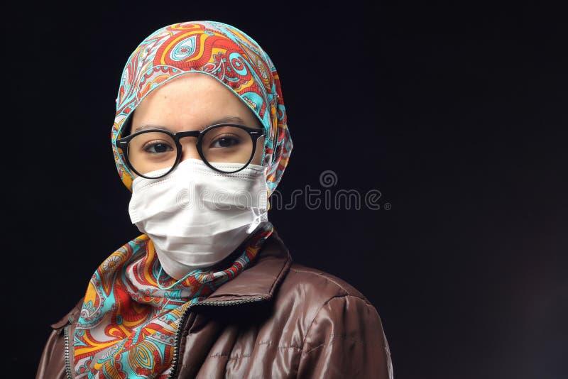 阴霾面具 图库摄影