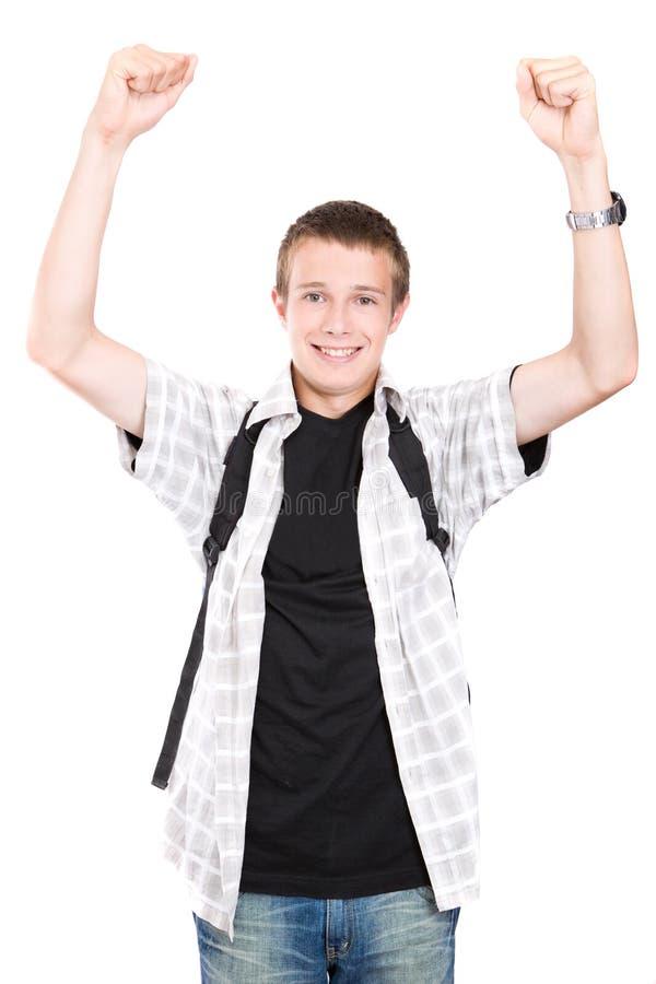 青少年的学校 免版税库存图片