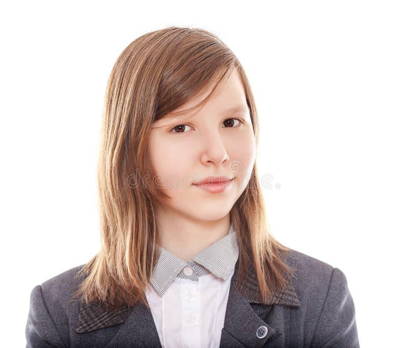 青少年的学校学员 库存照片