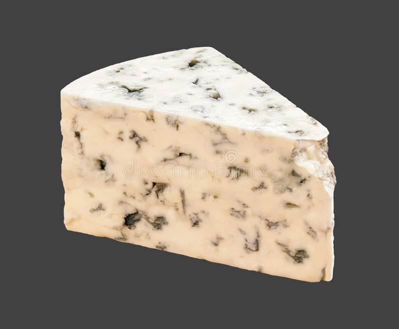 青纹干酪 库存图片