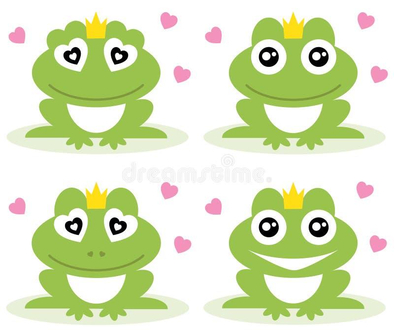 青蛙。 皇族释放例证