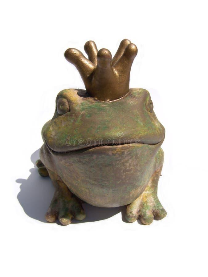 青蛙国王 免版税库存图片