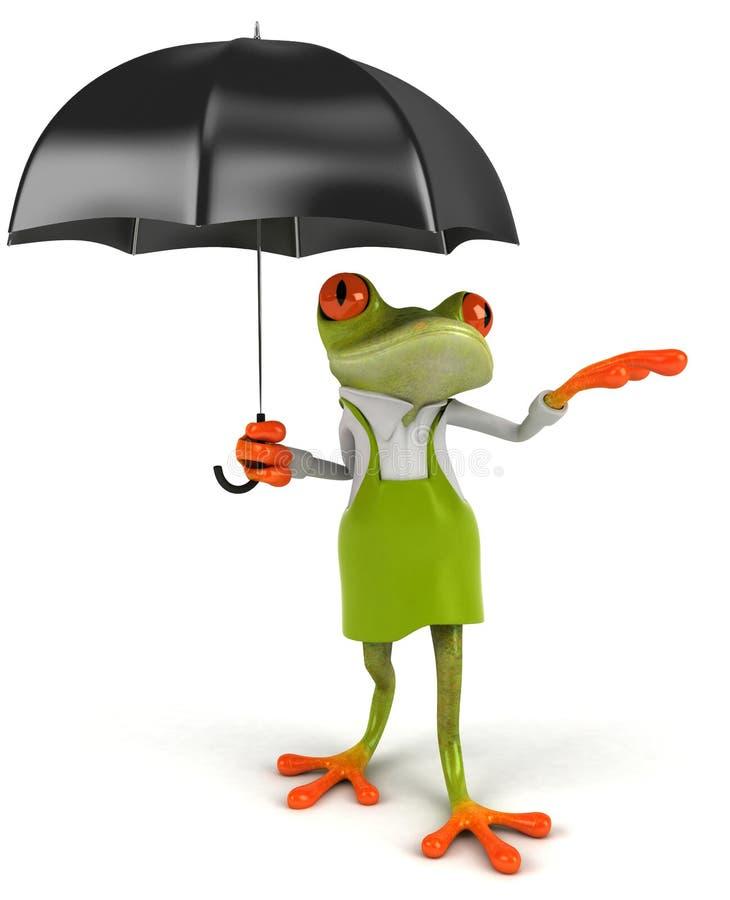 青蛙花匠 皇族释放例证