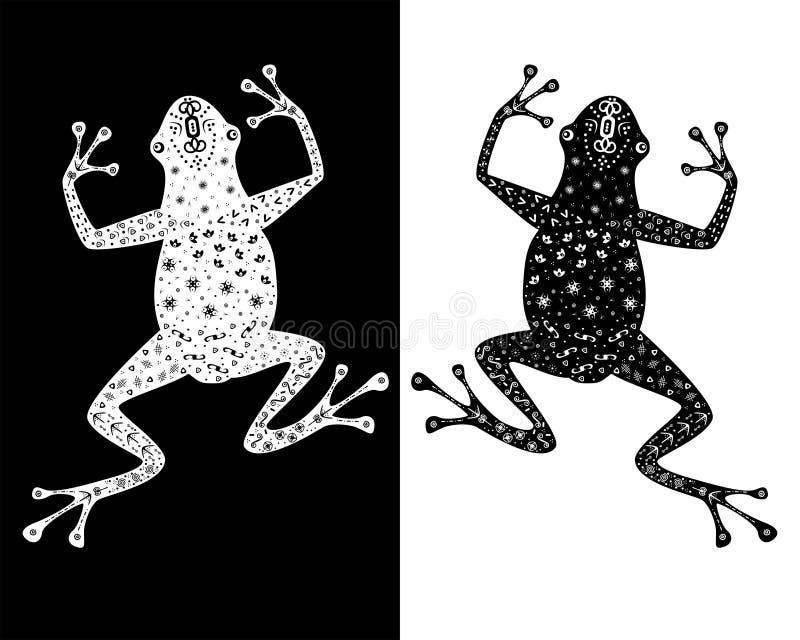青蛙 库存例证