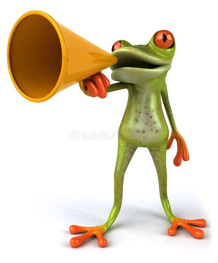 青蛙 皇族释放例证
