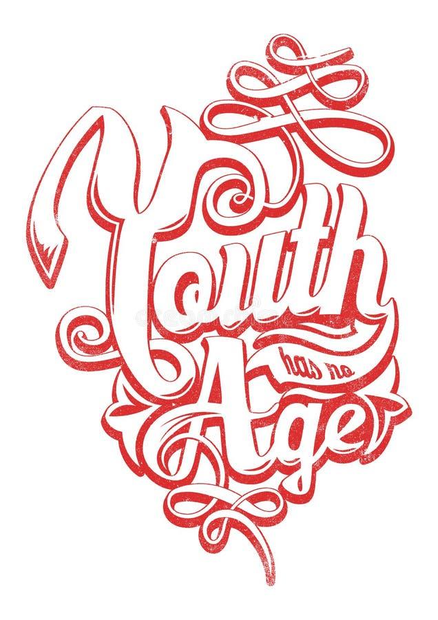 青年时期没有年龄 库存图片
