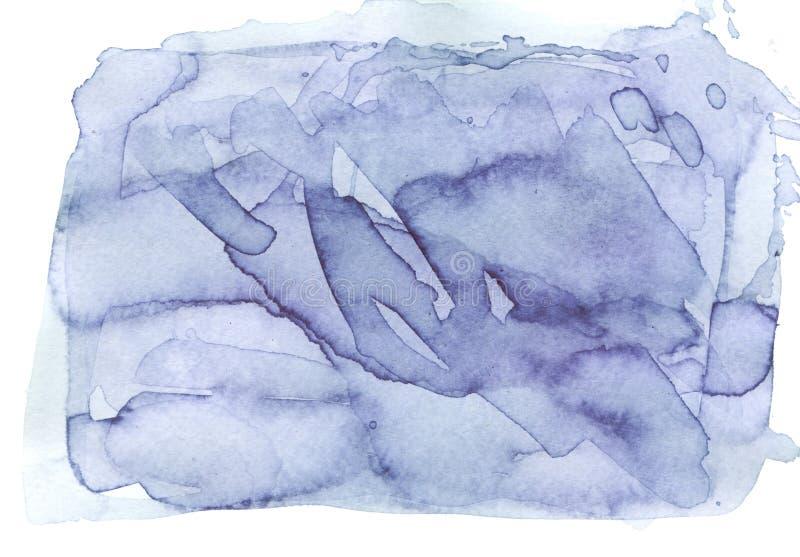 靛蓝杂乱斑点 向量例证
