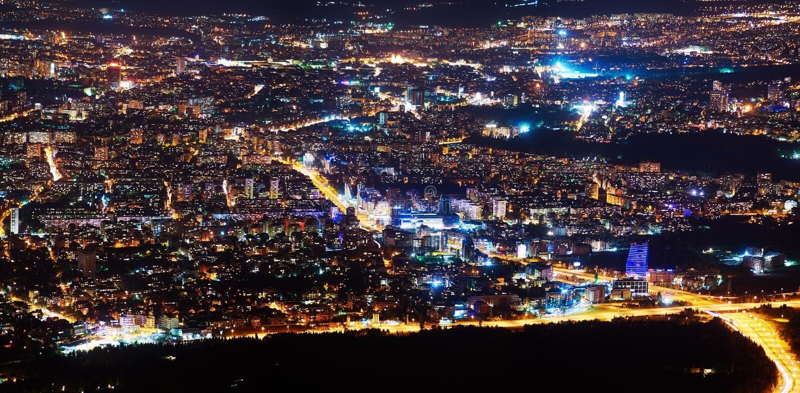 索非亚-保加利亚的首都 免版税库存图片