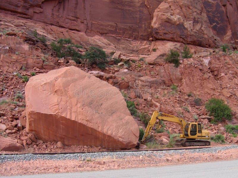 非常大岩石 库存图片