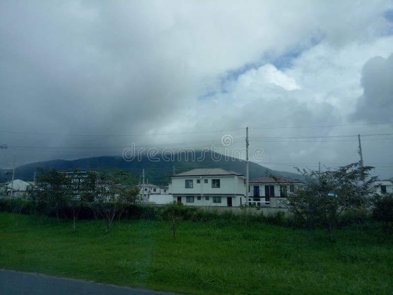 非常美丽的云彩 库存图片