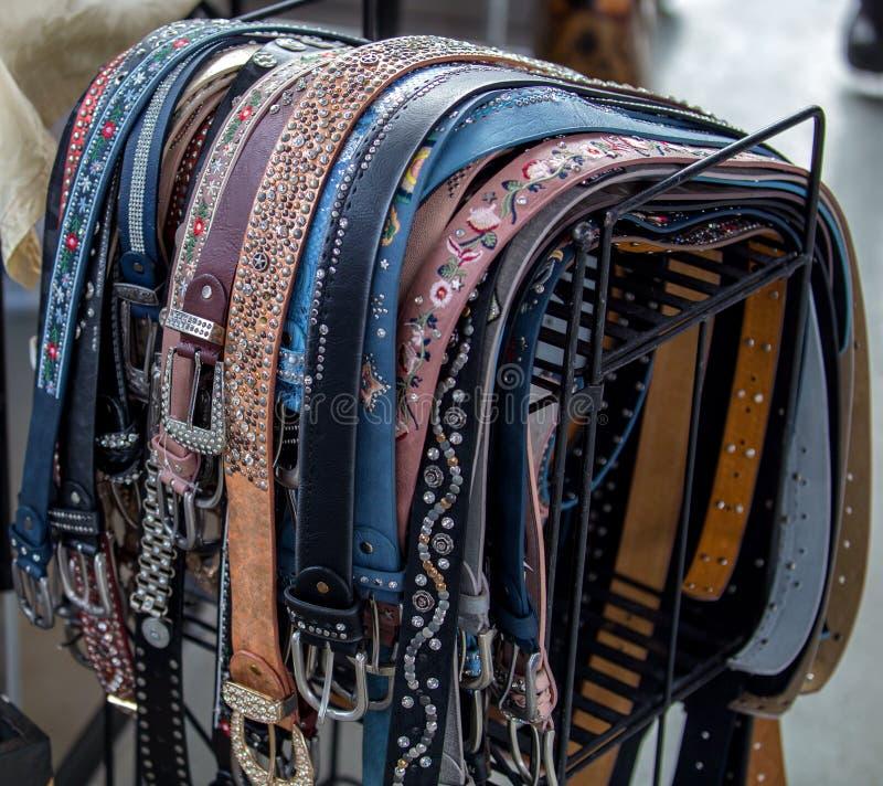 非常美丽的皮带 免版税库存图片