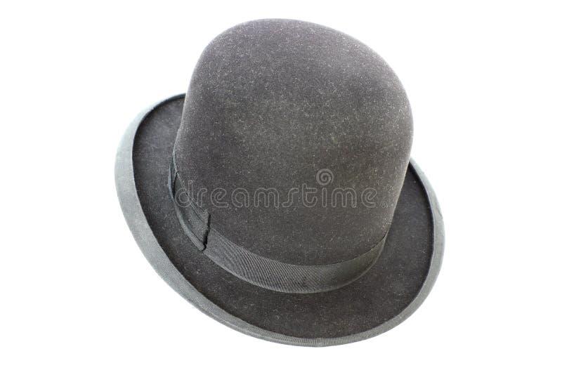 非常老大礼帽 免版税库存照片
