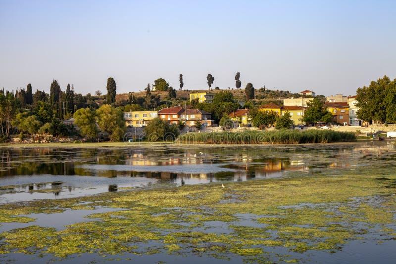 非常著名旅游村庄Golyazi apolyont 库存照片