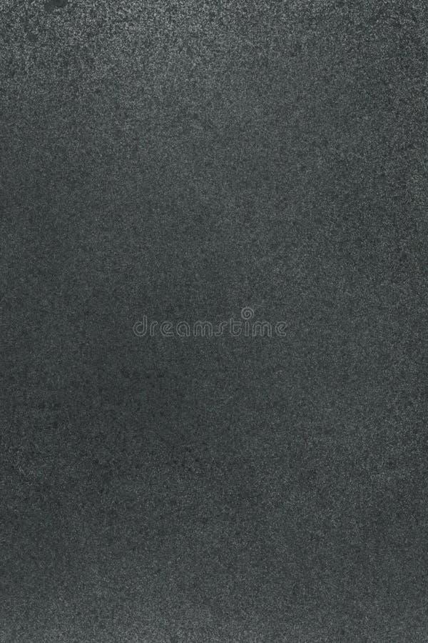 非常HIGHT决议 与气刷作用的墙纸 在白皮书的黑丙烯酸漆冲程纹理 疏散泥 图库摄影