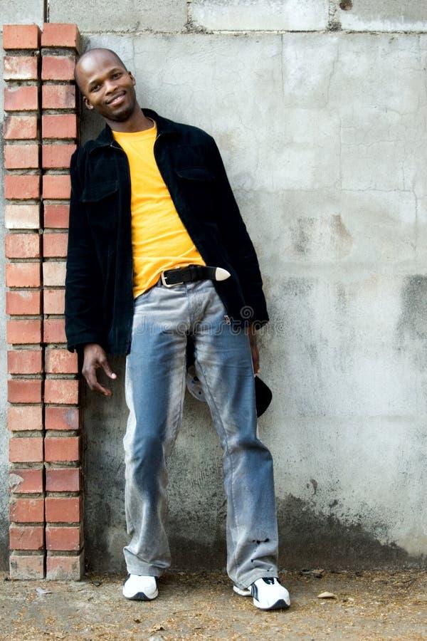 非洲人年轻人 免版税库存照片