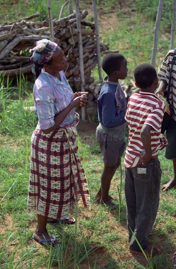 非洲人民,莫桑比克 库存照片