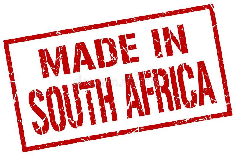 非洲做南部 库存例证
