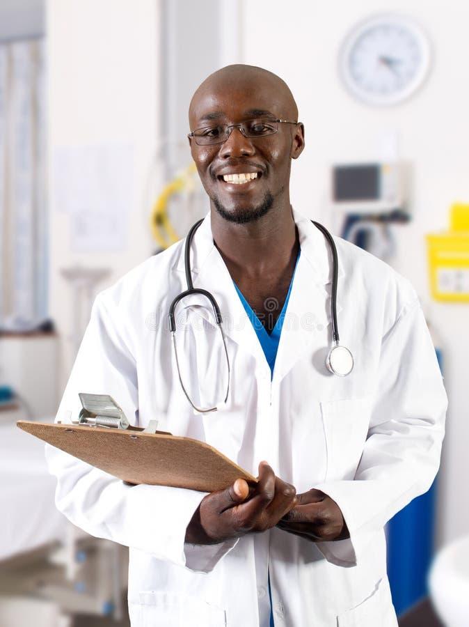非洲医生 库存图片