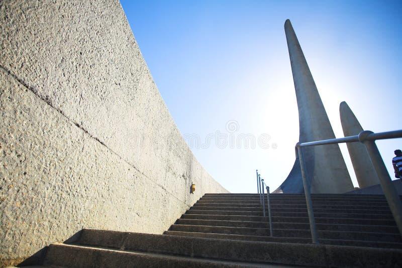 非洲南非荷兰语南语言的纪念碑 库存图片