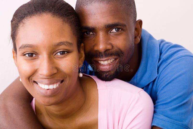 非洲夫妇 免版税库存照片