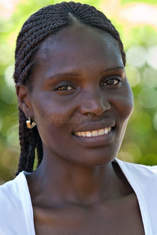 非洲女孩 库存图片